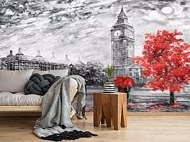 3D Фотообои «Лондон Башня Елизаветы» вид 2