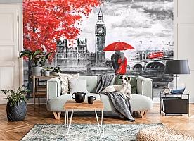 3D Фотообои «Романтика Лондона» вид 6
