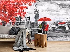 3D Фотообои «Романтика Лондона» вид 2
