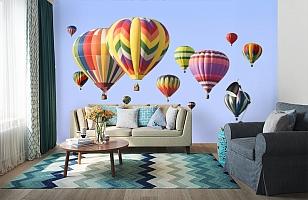 3D Фотообои  «Воздушные шары»  вид 6