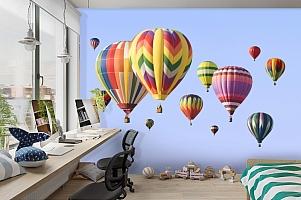 3D Фотообои  «Воздушные шары»  вид 3