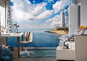 3D Фотообои  «С маяком»  вид 4