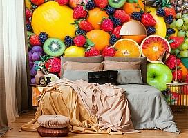 3D Фотообои «Цитрусы с ягодами» вид 5