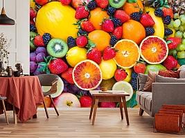 3D Фотообои «Цитрусы с ягодами» вид 4
