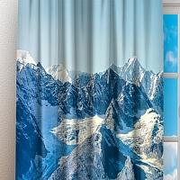 Фотошторы «Горы с заснеженными вершинами» вид 3