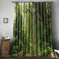 Фотошторы «Тропический лес» вид 8
