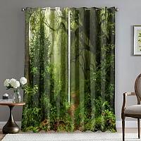 Фотошторы «Тропический лес» вид 5