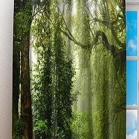 Фотошторы «Тропический лес» вид 3