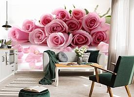 3D Фотообои  «Чайные розы»  вид 7