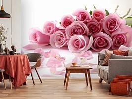 3D Фотообои  «Чайные розы»  вид 5