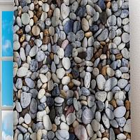 Фотошторы «Прибрежные камни» вид 2