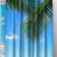 Фотошторы «Терраса у лазурного моря» вид 2