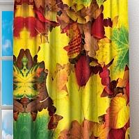 Фотошторы «Разноцветная листва» вид 2