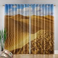 Фотошторы «Пески пустыни» вид 4