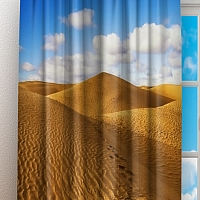 Фотошторы «Пески пустыни» вид 3