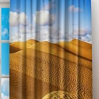 Фотошторы «Пески пустыни» вид 2