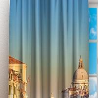Фотошторы «Вид на Собор Санта-Мария делла Салюте» вид 3