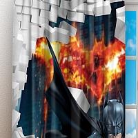 Фотошторы «Бэтмен» вид 3
