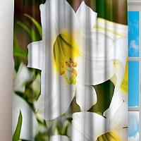 Фотошторы «Белые лилии» вид 3