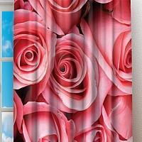 Фотошторы «Обилие роз» вид 2