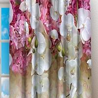 Фотошторы «Ниспадающие орхидеи» вид 2