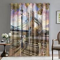 Фотошторы «Тауэрский мост» вид 5