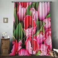 Фотошторы «Букет тюльпанов» вид 8