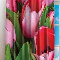 Фотошторы «Букет тюльпанов» вид 3