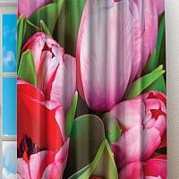 Фотошторы «Букет тюльпанов» вид 2