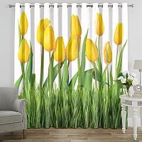 Фотошторы «Желтые тюльпаны» вид 7
