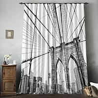 Фотошторы «Мост Нью-Йорка» вид 8