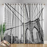 Фотошторы «Мост Нью-Йорка» вид 4