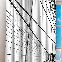 Фотошторы «Мост Нью-Йорка» вид 3