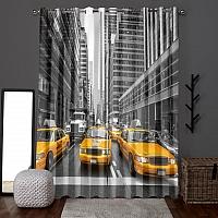 Фотошторы «Такси Нью-Йорка» вид 6