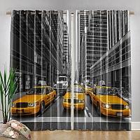 Фотошторы «Такси Нью-Йорка» вид 4