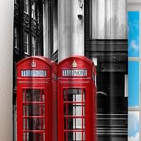 Фотошторы «Телефонные будки» вид 3