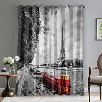 Фотошторы «Эйфелева башня у реки» вид 5