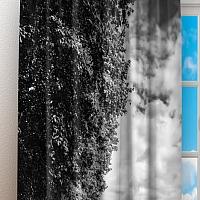 Фотошторы «Эйфелева башня у реки» вид 3