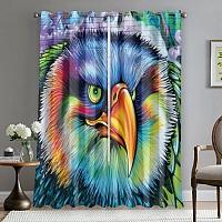 Фотошторы «Хищный орел» вид 5