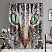 Фотошторы «Кошачий взгляд» вид 5
