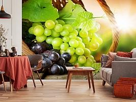 3D Фотообои  «Грозди винограда»  вид 4
