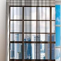 Фотошторы «Окна с панорамным видом на город» вид 3