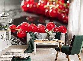3D Фотообои  «Красная смородина»  вид 7