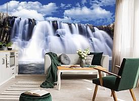 3D Фотообои  «Водопад»  вид 4