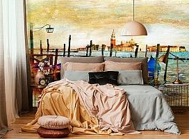 3D Фотообои  «Фреска Венеция» вид 4