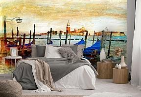 3D Фотообои  «Фреска Венеция» вид 2