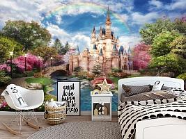 3D Фотообои «Замок принцессы»
