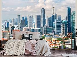 3D фотообои 3D Фотообои «Городские небоскребы» вид 13