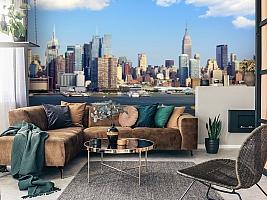 3D Фотообои  «С видом Нью-Йорка»  вид 7