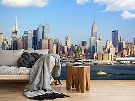 3D Фотообои  «С видом Нью-Йорка»  вид 5
